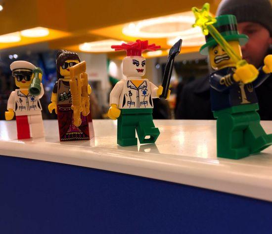 Indoors  Toy Figurine  Multi Colored Day LEGO Legophotography Funny London Lifestyle Imagination Fantasy