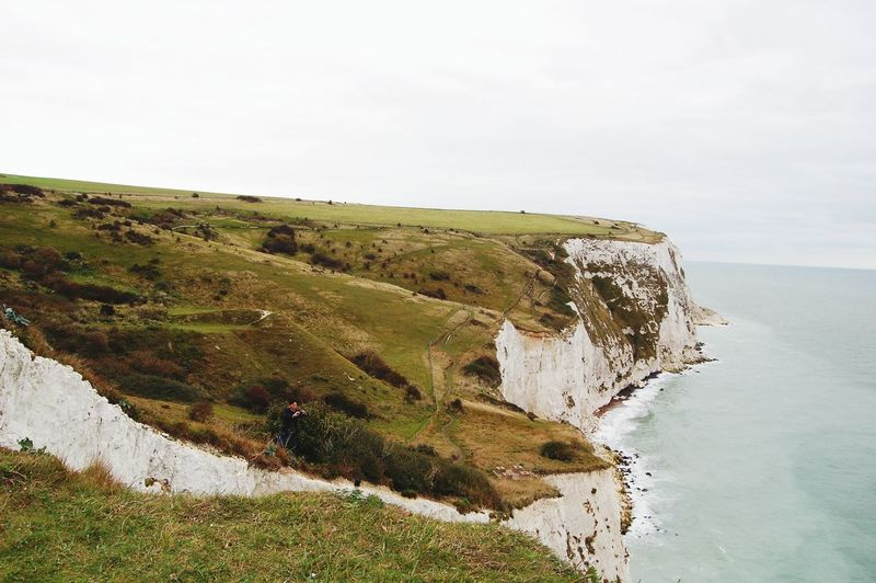 Clifs Dover England Nature Outdoors Landscape Day Sky Scenics Dover Cliffs Dover Dover Castle English Channel The Great Outdoors - 2017 EyeEm Awards