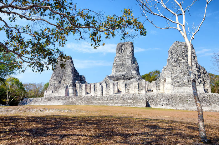 Xpujil archaeological site in the Yucatan Peninsula in Mexico Ancient Archeology Campeche City Mayan Mayan Ruins Mexico Pyramid Pyramids Ruins Travel Yúcatan Acropolis Archaeological Archaeological Sites Civilization Landmark Maya Monument Rivera Sacred Site Temple Xpujil Yucatan Mexico