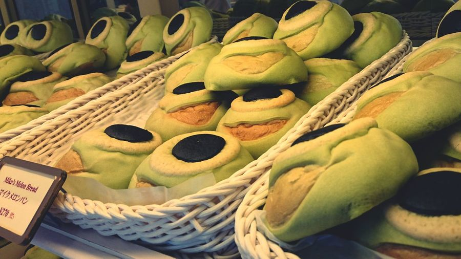 Holiday Happy Disneyland Love Monsters INC Food Foodphotography Green Gyorome Smartphonephotography AndroidPhotography MikeWazowski
