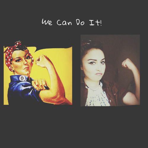 We Can Do It Women Rosietheriveter