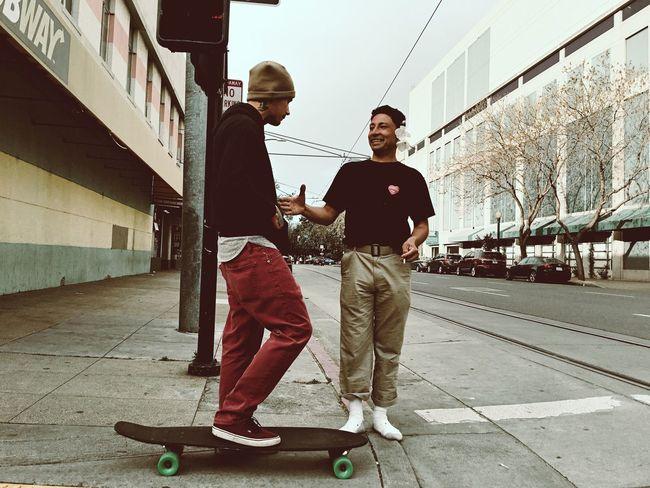 Homies. Streetphotography IPhoneography Sacramento