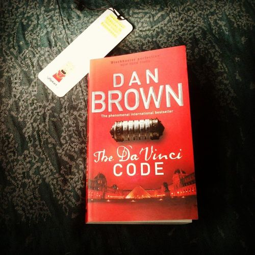 Today's pick .. Readtime @AuthorDanBrown The_Da_Vinci_Code