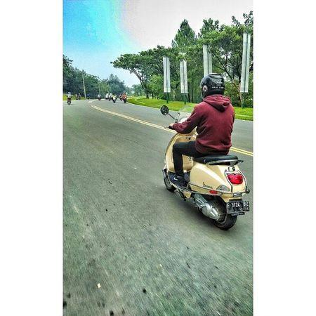 Bopscoot Vespalover Vespa Lx125 sunday ride Bogor GnPancar Instapic MiPhone redmi1s snapseed PhotoGrid cc: @aldiadhia @bopscoot