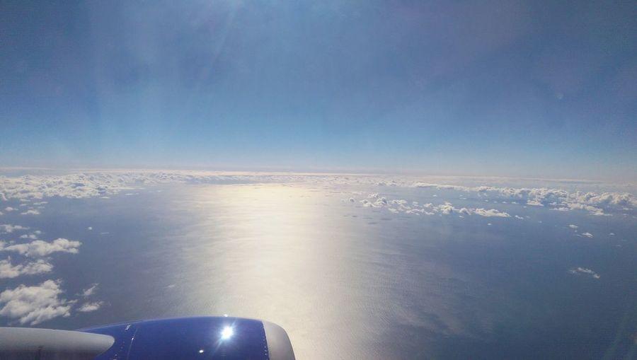 Thanksgiving Break  2015  First Eyeem Photo Sky Ocean Blue Clouds
