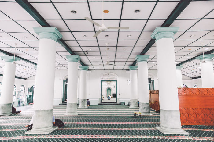 Arch Architectural Column Architectural Feature Architecture Built Structure Ceiling Colonnade Column Corridor Day Famous Place History In A Row Indoors  Interior Masjid Jamae Mosque Pillar Steps SUPPORT Tourism Travel Travel Destinations