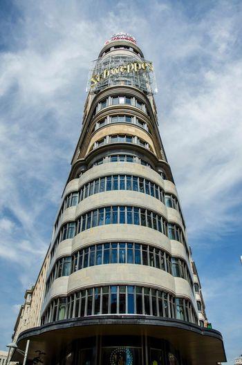 Edificio Carrión Edificio Carrión Architecture Arquitectura Building Symmetrical Symmetry Madrid España SPAIN First Eyeem Photo