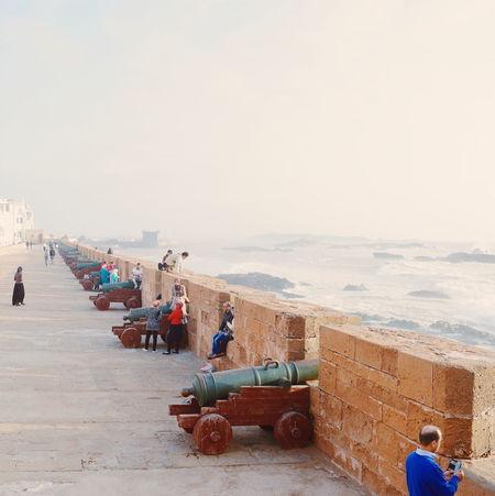 Essaouira Morocco Cannon Ocean