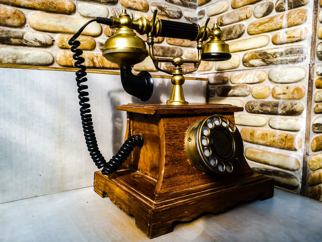 Indoors  Jewelry Old-fashioned No People Antique Telephone Jewelry Store Day Close-up