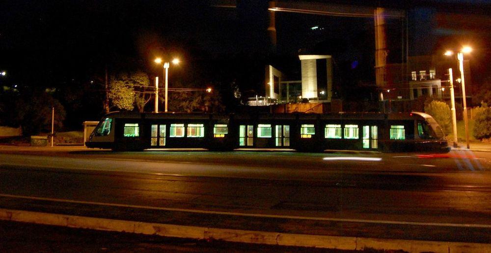 Tram in villa