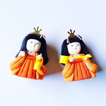 Japan Photography Japanesedoll Doll IPhoneography 雛人形 Orange