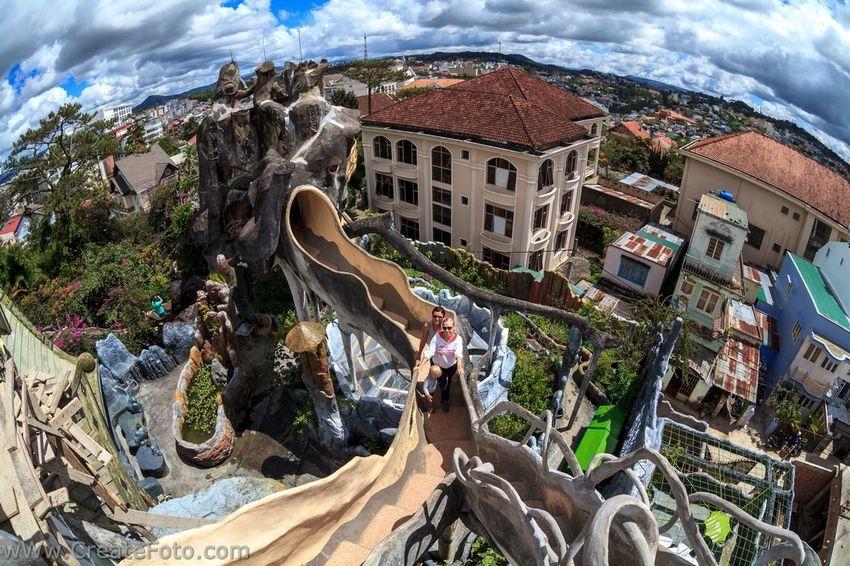 The Places I've Been Today вьетнамфотограф Vietnam Trip фотографвьетнам DaLatcity Crazy House Tourists Gaudi Dalathotel Photoshoot