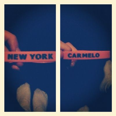 My Rubberband Carmelo Anthony new york knicks nba basketball love Sis ♥