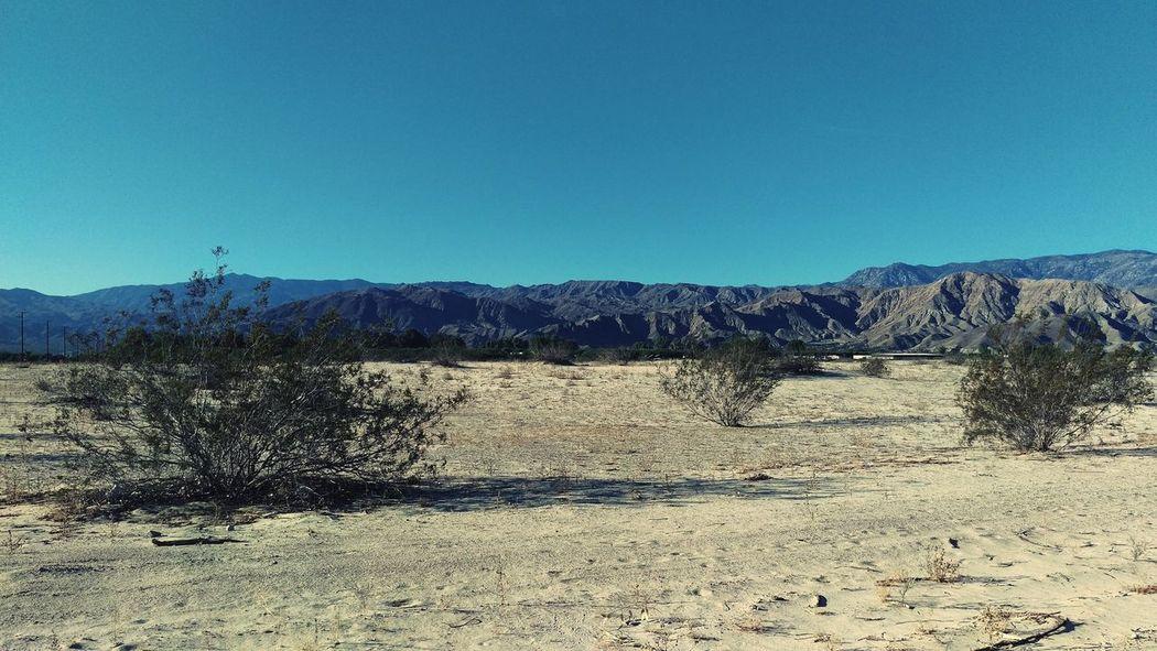 Ranchomirage Desert Beauty Landscape Clear Sky Desert Landscape Sand Outdoors Desertlife HTC_photography HTC One M9 California