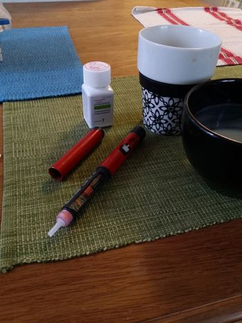 Good Morning My Breakfast Medicine Insulin