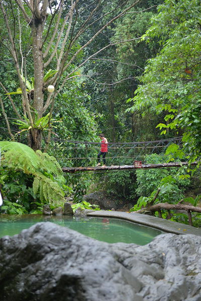Adult Adults Only Adventure Beauty In Nature Branch Day Dumaguete Eyeem Philippines Forest Forest Camp Headwear Lush Foliage Nature One Person Outdoors People Stream - Flowing Water Tree Water