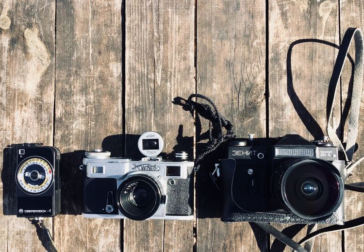 Film not dead No People Nostalgia Wall - Building Feature Still Life Camera Vintage Old