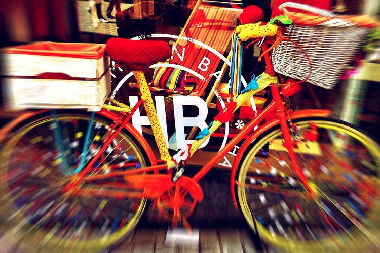 Blurry Bike