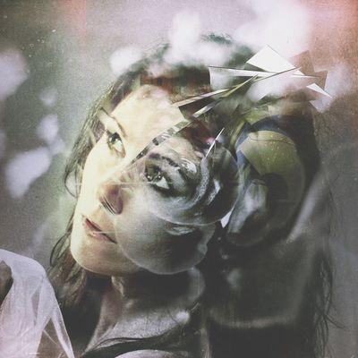 PREDICTION Double Exposure Portrait Conceptual Portrait Of A Woman