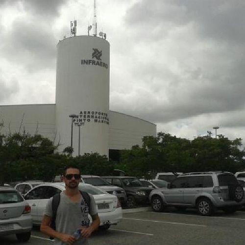 Chegada em Aeroportointernacionalpintomartins Aeroportopintomartins Fortalezaceara 40graus