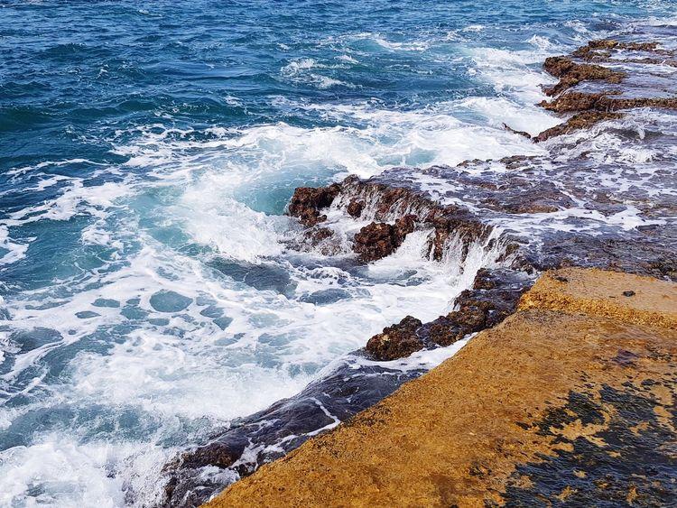 No People Sea Nature Stone Wall