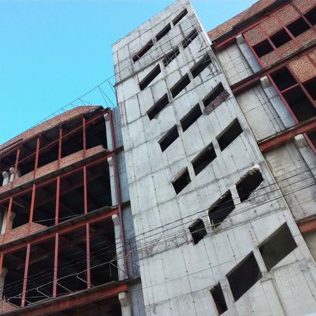 Building Exterior Day Architecture Krasnoyarsk Krsk