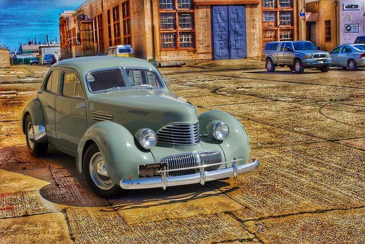 1941 Graham Hollywood, Ford V-8, 4b Carb - Friend Dean Post Production Blend Of 2 Layers Land Vehicle Transportation Vintage Automobile