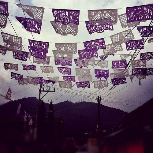 Adornos Calle Streetornament Town pueblo sky cielo electricalsky cablesky feria cerro hill instamood instagram instagood instahub igers picoftheday picoftheday fotodeldia tradiciones traditions mexico mextagram lalojm1 2012