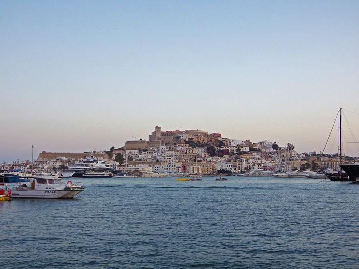 From the port of Dalt Vila Landscape Ibiza Port Dalt Vila