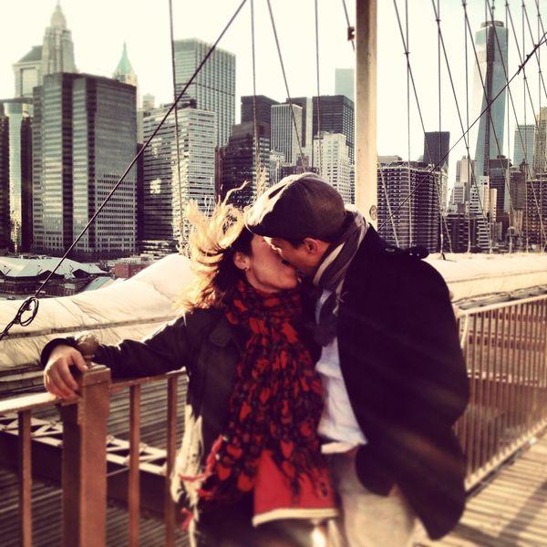 I Heart New York Broklyn Bridge