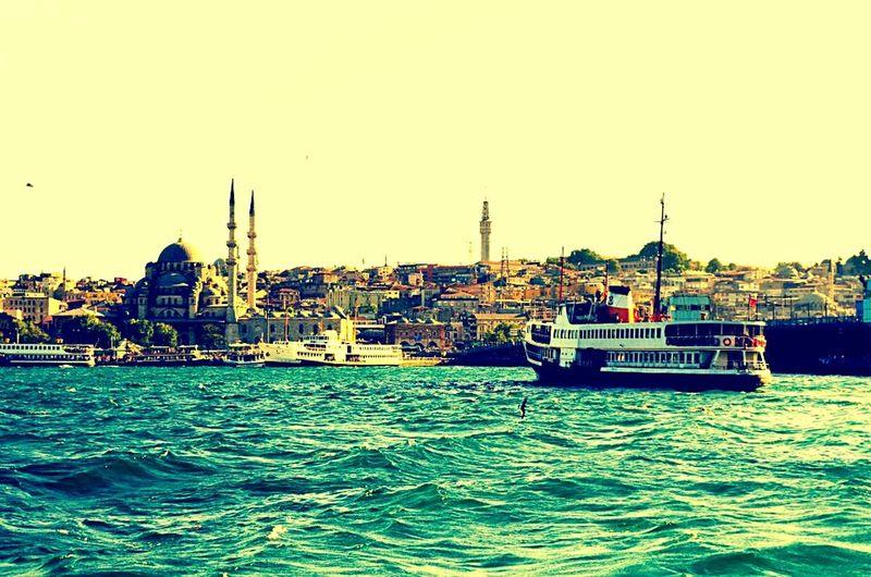 GalataBridge Eminönü/ İstanbul @travel @traveling On The Boat