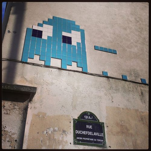 Streetphotography Streetart Space Invader Paris13