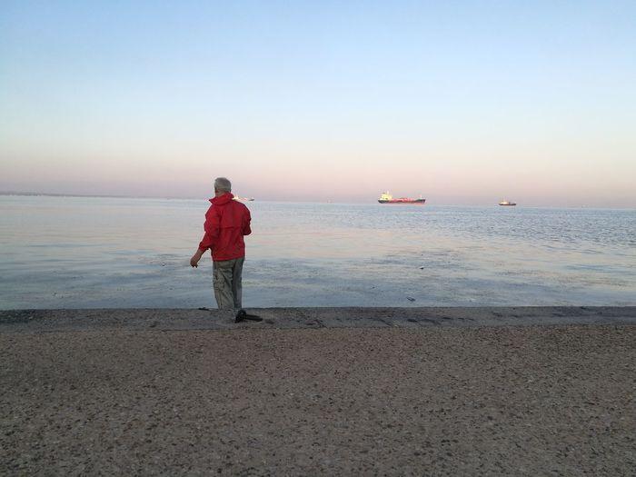 Fisherman Alone