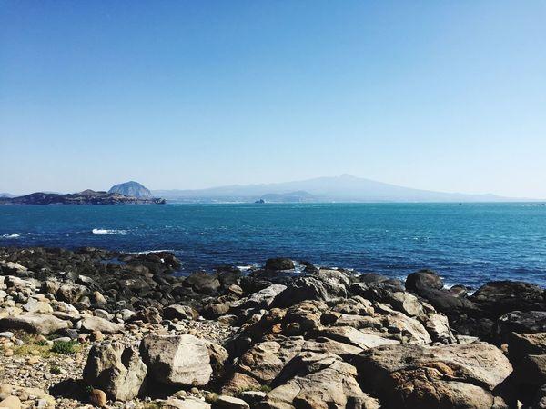 JEJU ISLAND  Sea South Korea Ocean View