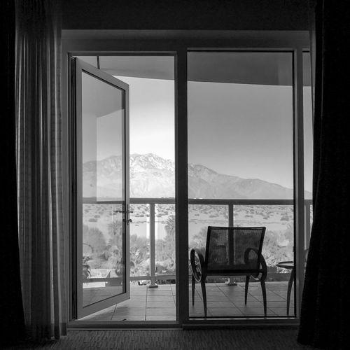 morning view Blackandwhite