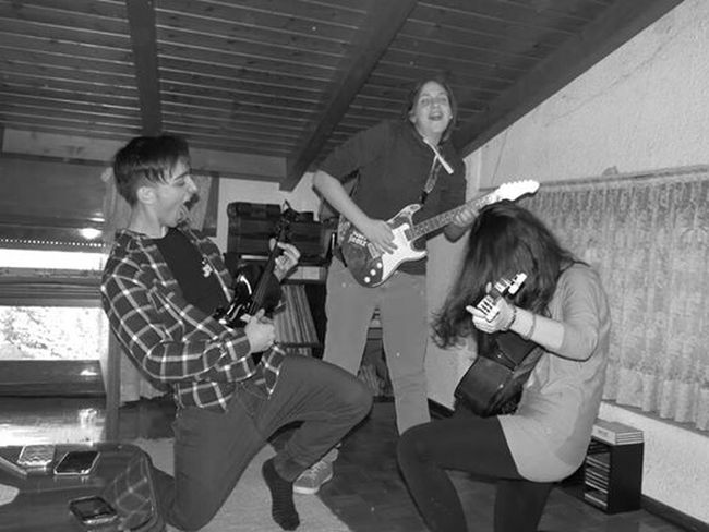 Funny Crazy Rock'n'Roll Photography Friends Mad Music we look likeRockstar