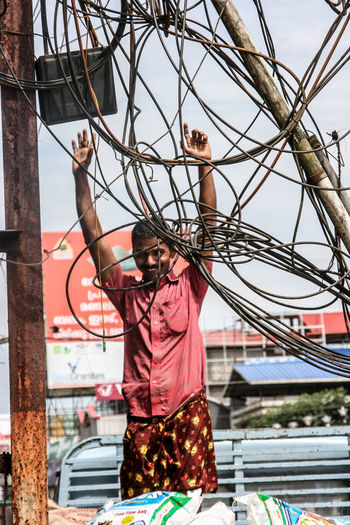 City Close Up Technology India Indian Indian Technology Kabel Kabelsalat Outdoors Reiselust Travellover Streetart Streetphotography Street Photography Travel The City Light The Street Photographer - 2017 EyeEm Awards Connected By Travel