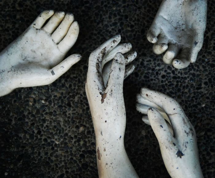 Tired Human Hand Human Body Part Old Work