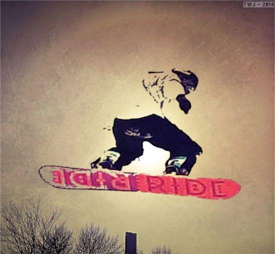 Snow Snowboarding Spring