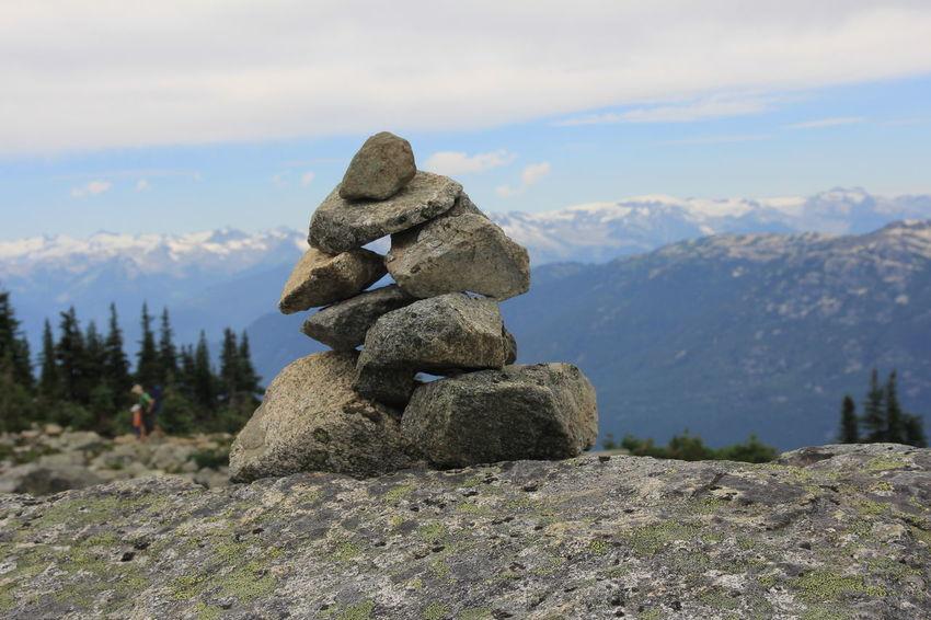 Rock Peak. Rock Rock - Object Mountain Mountain Range Whistler Blue Sky Nature