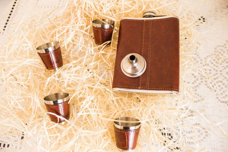 Cantil e copos para whisky Kit Whisky Whisky Whisker