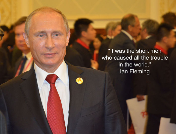 #IanFleming birthday #quote and a picture of Russian president #Putin taken in China at a Bejing state banquet. If this #quotograph resonates with you feel free to #repost for others to enjoy. Hall Of The Building Ian Fleming Ian Somerhalder P Quotes