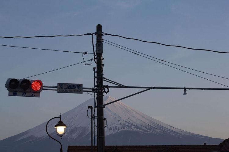 Silhouette Fuji