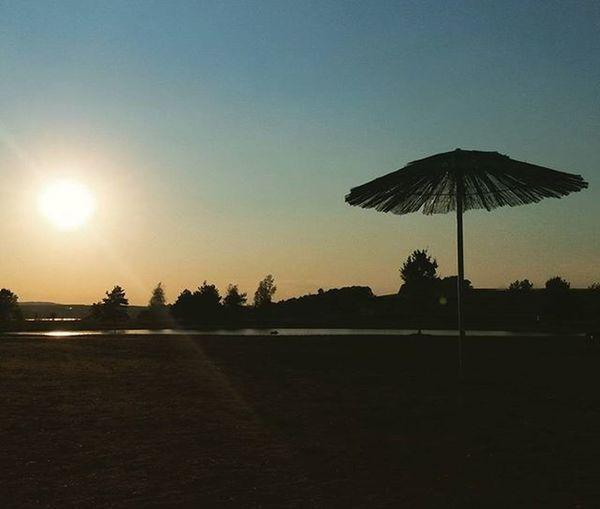 Konec léta / End of summer Leto Sterkovna Hlucin Endofsummer Summer Ostrava Czechrepublic Sunset