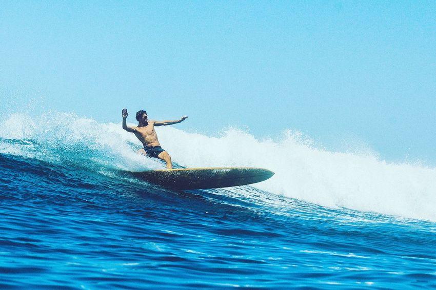 Sea Blue Sport Day Gatoheroi Robinkegel Carve Surf Parlementia Retro Perfect Classic Style
