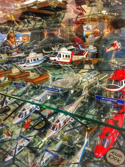 MUSEO AGUSTA WESTLAND Agustawestland Full Frame Multi Colored Backgrounds No People High Angle View Built Structure City Reflection Glass - Material Large Group Of Objects