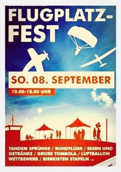 Flugplatzfest Flugplatz Schwenningen am 08.09.2013
