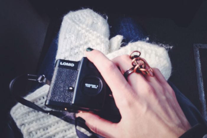 My hand and favorite camera Lomo All About Me Saint Petersburg
