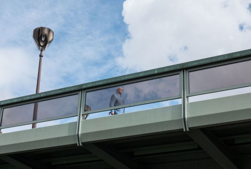 Architecture Street Light City Life Cloud Streetphotography Old Man Bridge Minimalism