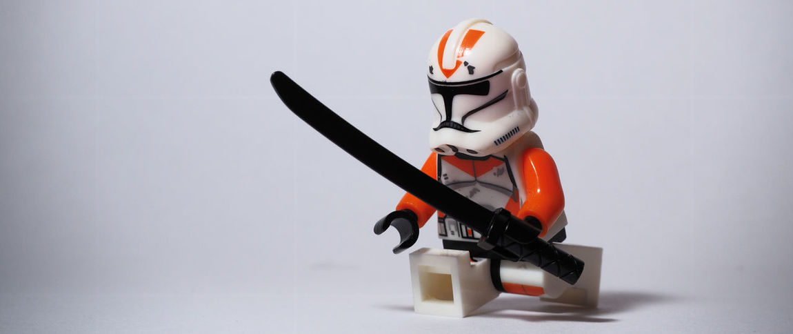 Samurai 101 - 212th Clone Trooper Minifigure Close-up LEGO Minifigure Minifigures No People Single Object Star Wars Starwars Still Life Stillife StillLifePhotography Studio Shot Toy Toys Showcase: February
